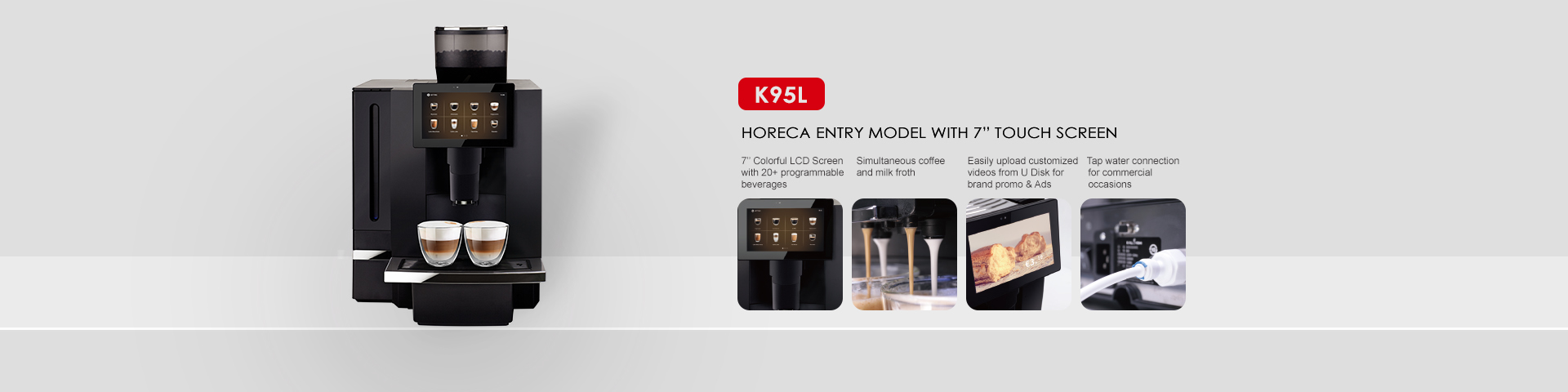 <strong>Kalerm Coffee Machines with Fashional Outlook and Super Functions</strong>