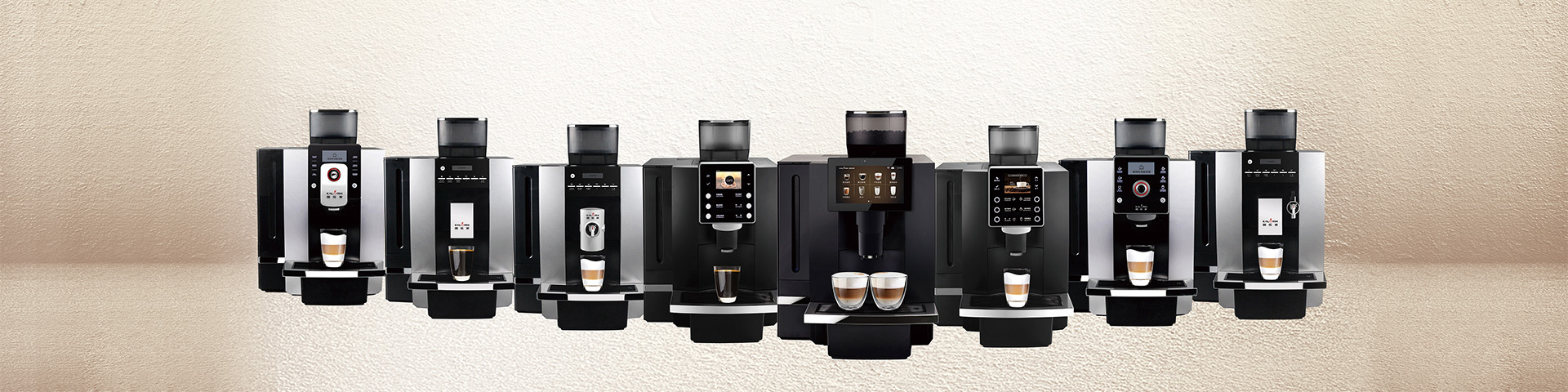 <strong>Fully Automatic Coffee Machines Designed and Manufactured by Kalerm</strong>