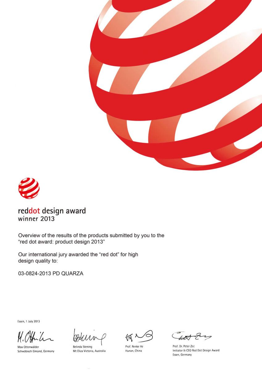 Reddot Design Award Winner 2013 Kalerm Leading China Coffee
